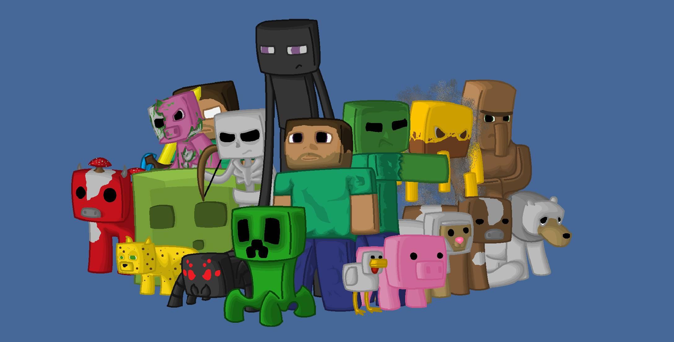 Minecraft købt af Microsoft for 14 mia.