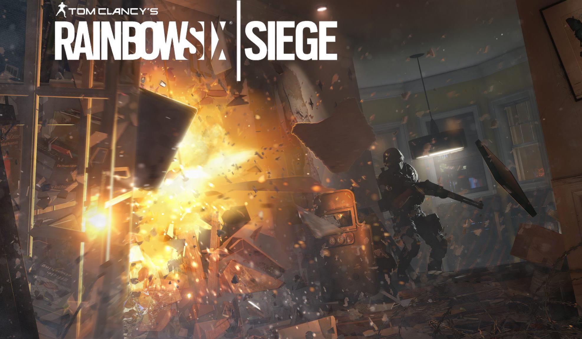 RainbowSix: Siege, glæd dig!