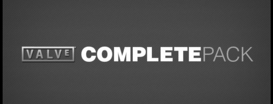 "Valve ""Complete game pack"" nu 75% rabat"