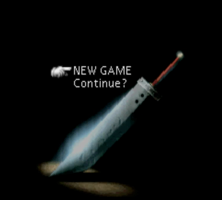 Gamle spil minder – Final Fantasy VII