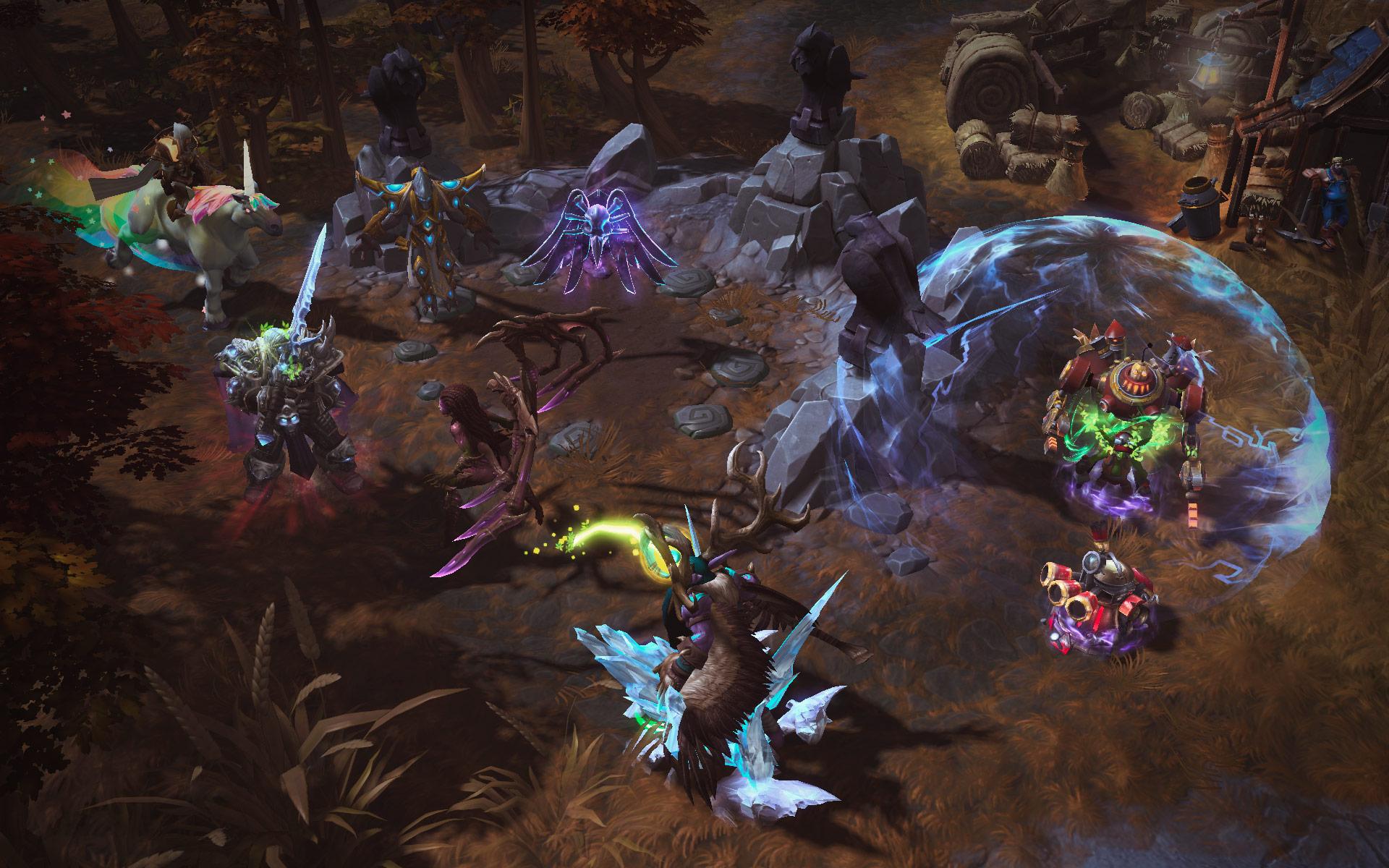 Mulighed for keys til Heroes of the Storm