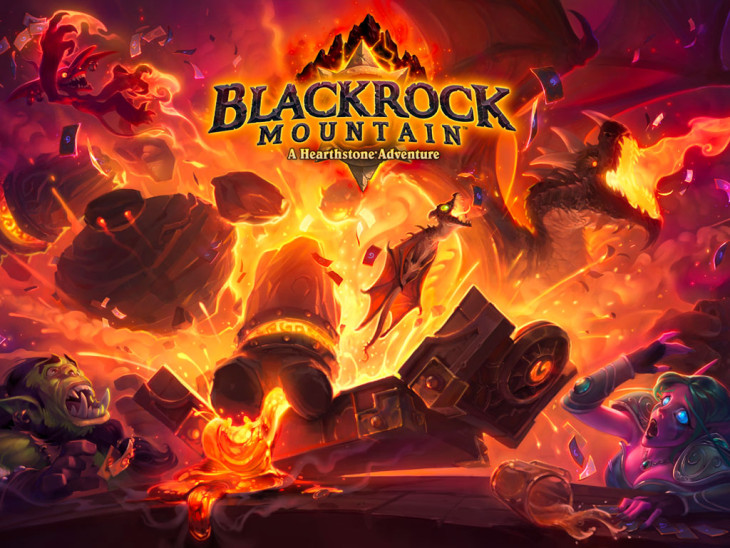 Hearthstone: Blackrock mountain release d. 3 april – se Blackrock Mountain LIVE PÅ TWITCH kl 19